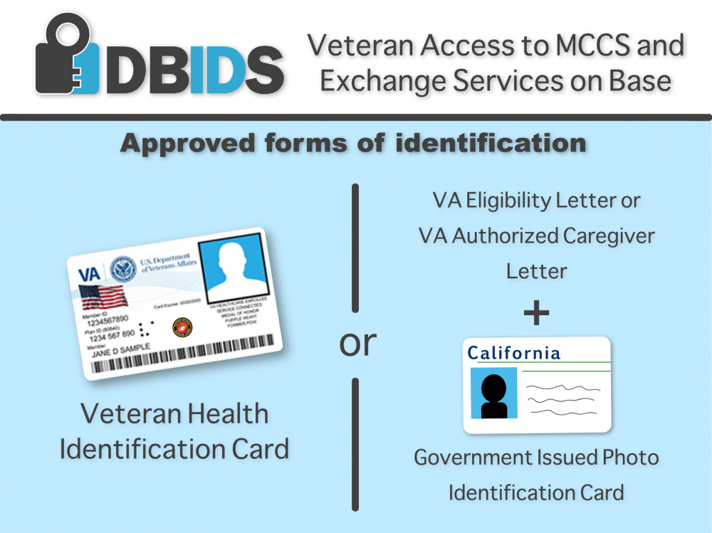 DBIDS Veteran Access graphic