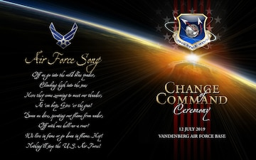 30TH SW Change of Command Program