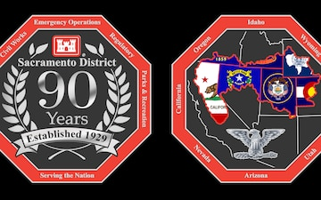 Sacramento District 90th Anniversary Coin