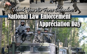 National Law Enforcement Appreciation Day Graphic