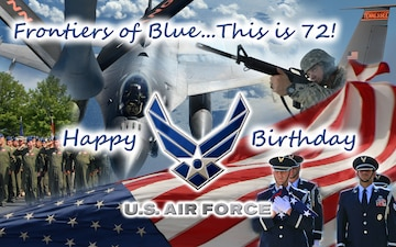 Air Force Birthday graphic