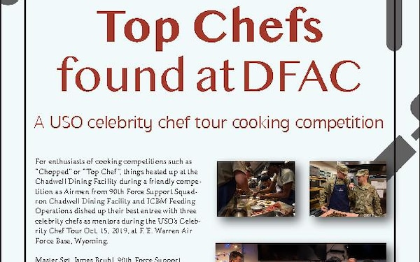 Top chef found at DFAC