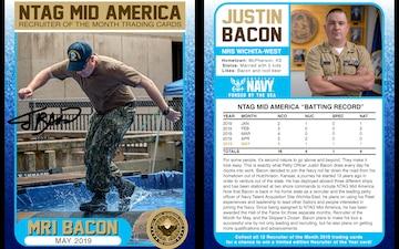 NTAG Mid America ROTM Baseball Card Concept