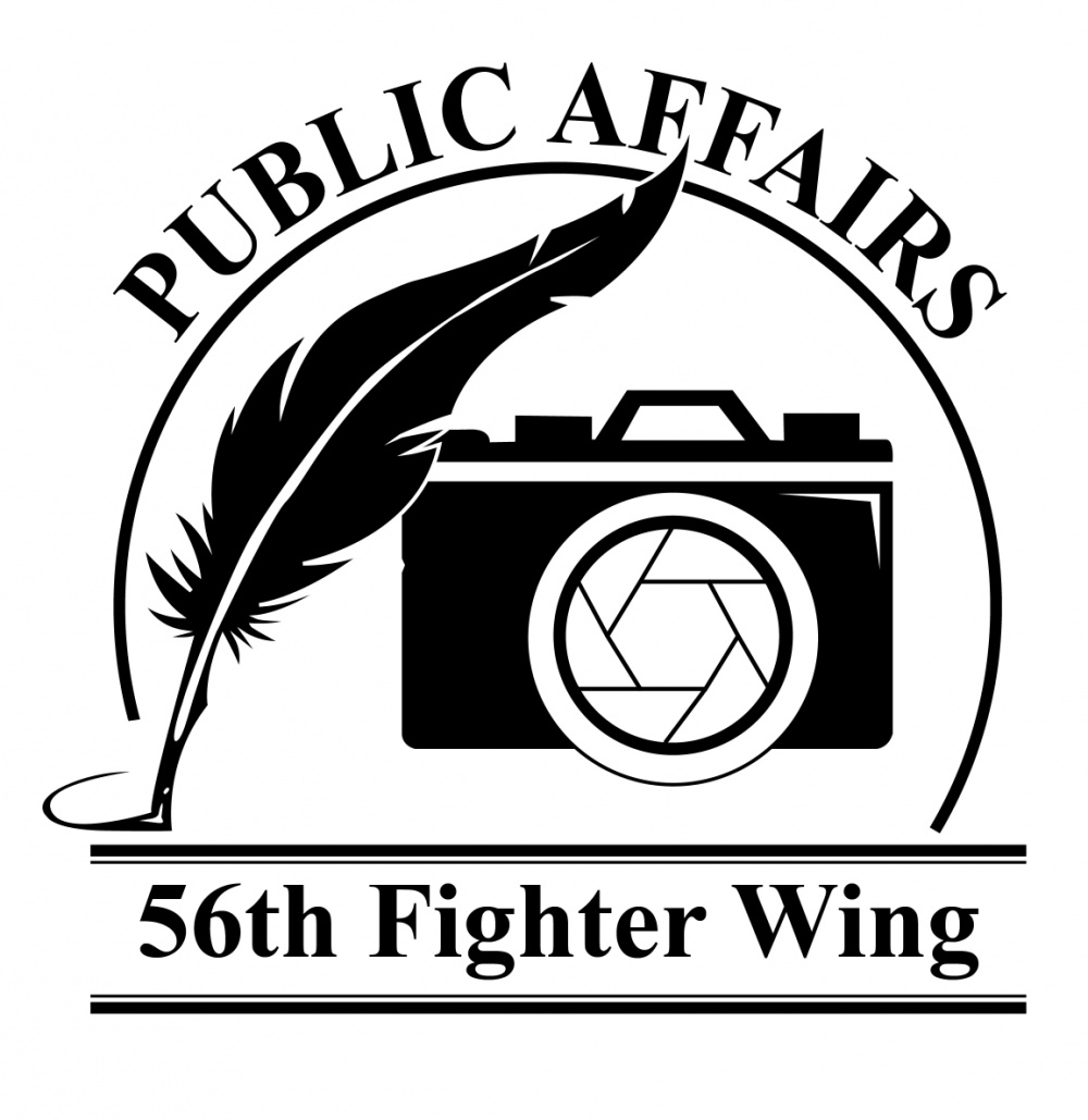 56 Fighter Wing Public Affairs Logo