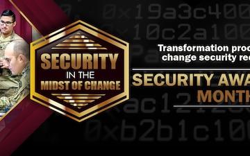 Security Awareness Month Facebook Header