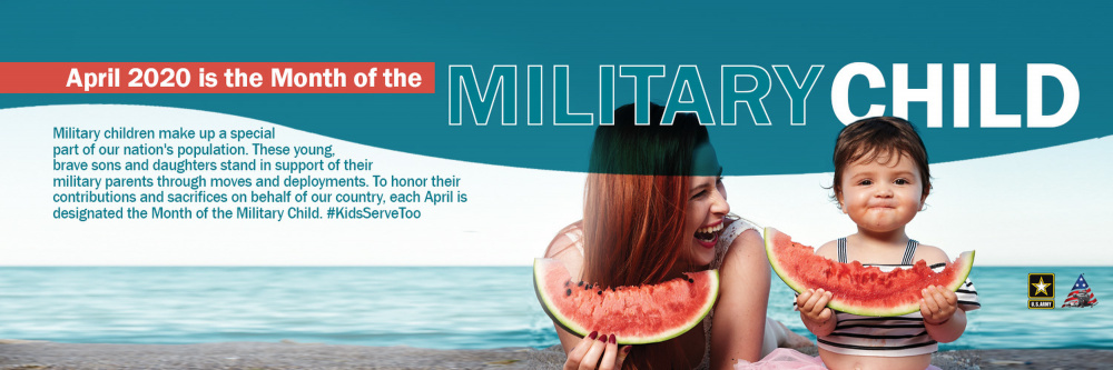 Month of the Military Child Facebook Header