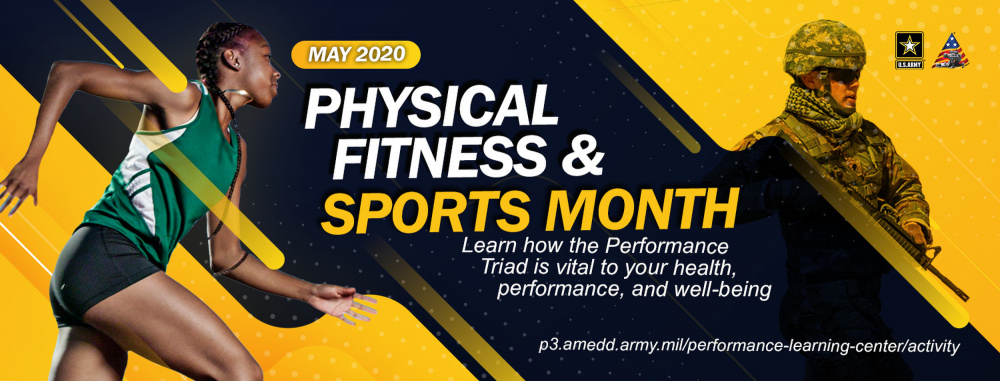 Physical Fitness and Sports Month Facebook Header