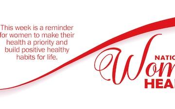 Womens Health Week Twitter Cover