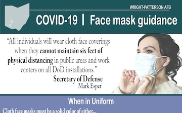 Face Mask Color Graphic