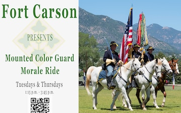 Mounted Color Guard Morale Ride