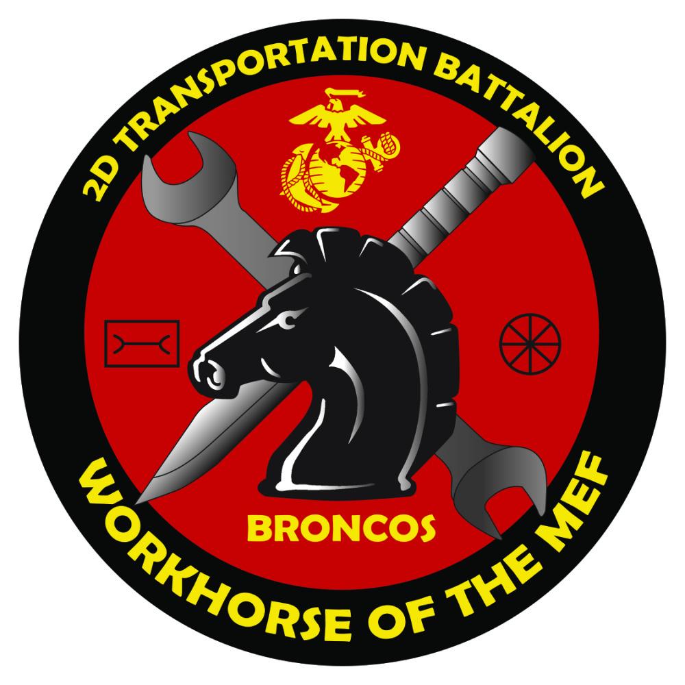 2nd Transportation Battalion new logo