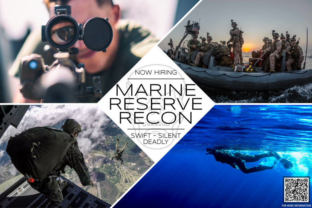 Wanted for Marine Reserve Recon