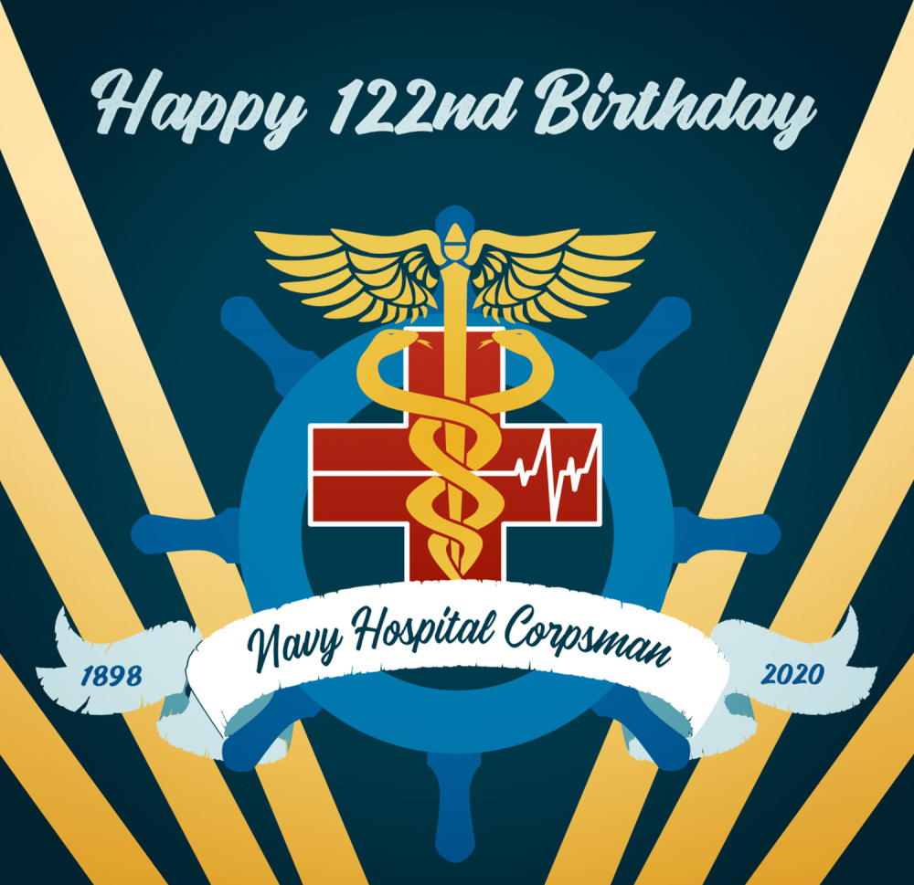Navy Hospital Corpsman 122nd Birthday