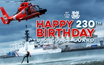 United States Coast Guard Birthday
