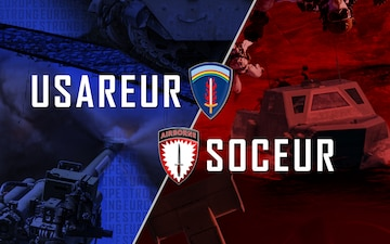 USAREUR and SOCEUR Poster