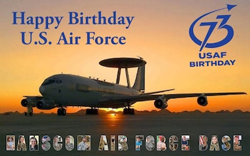 Happy 73rd Birthday Air Force
