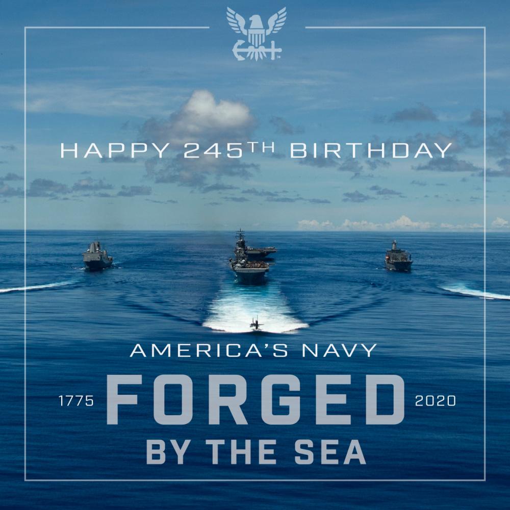 U.S. Navy's 245th Birthday