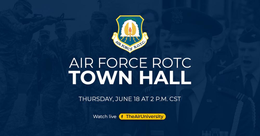 Air Force ROTC Virtual Town Hall