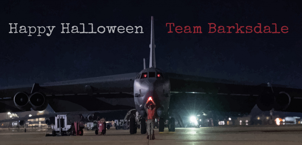Barksdale Halloween graphic