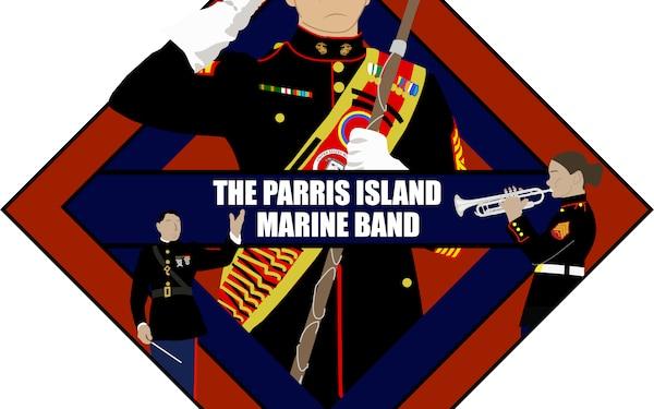 Parris Island Marine Band Logo