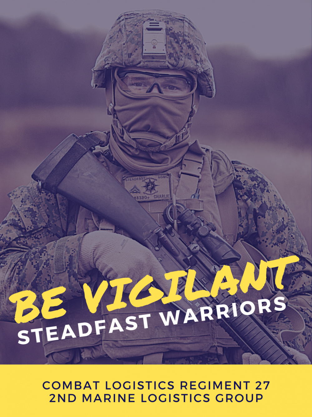 CLR-27 Steadfast Be Vigilant