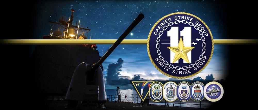 Carrier Strike Group 11 Facebook Cover Photo November 2020