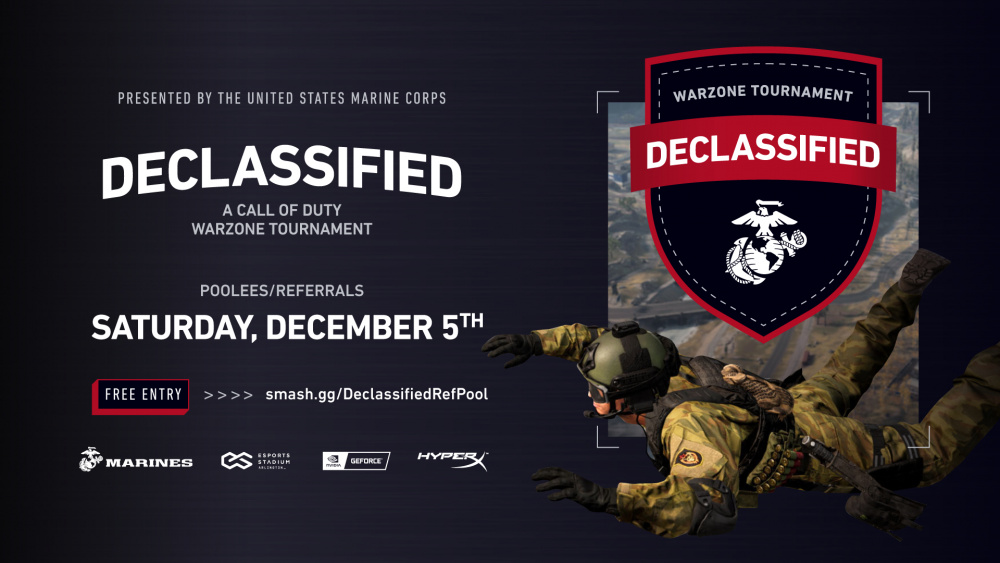 Marine Poolees to Compete in Esports Tournament