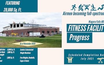 Niagara ARS fitness center progress