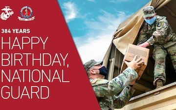 National Guard Celebrates 384 Years