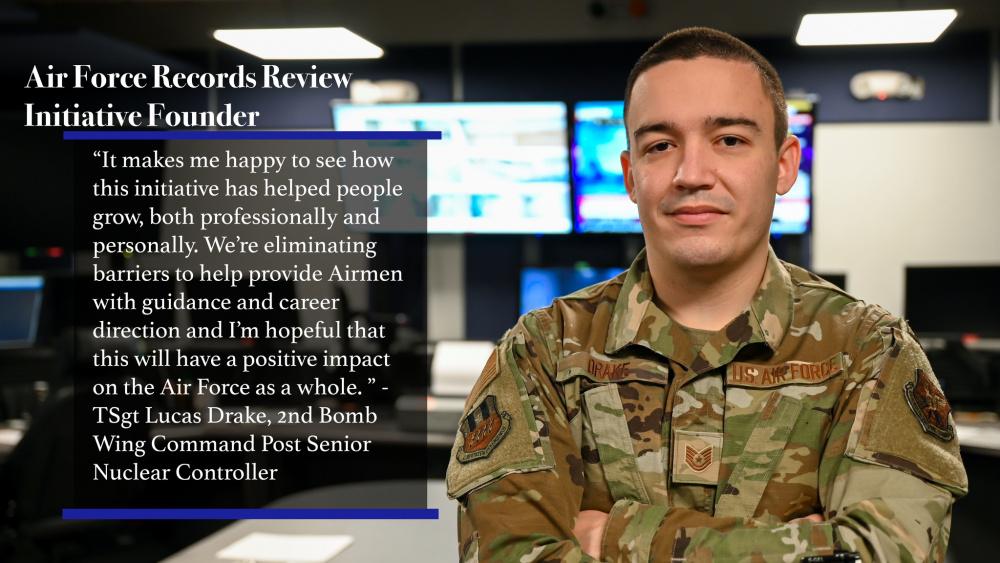 2nd BW Command Post Airman initiates change