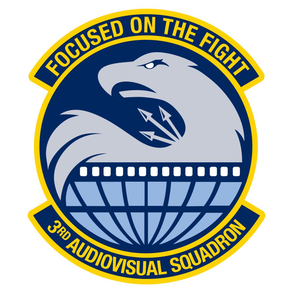 3rd Audiovisual Squadron Crest