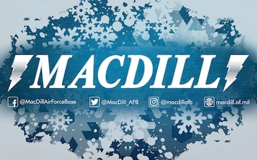MacDill Air Force Base Winter Graphic