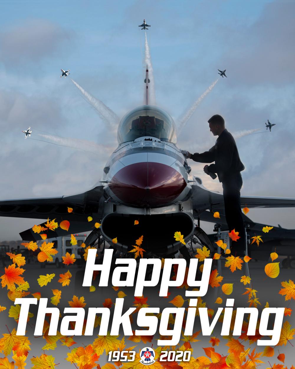 Thunderbirds celebrate Thanksgiving
