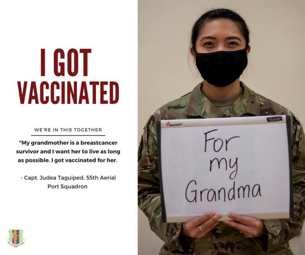 I got vaccinated