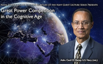 Former USSTRATCOM and Pacific Fleet Commander Cecil Haney Talks Great Power Competition During Latest SGL