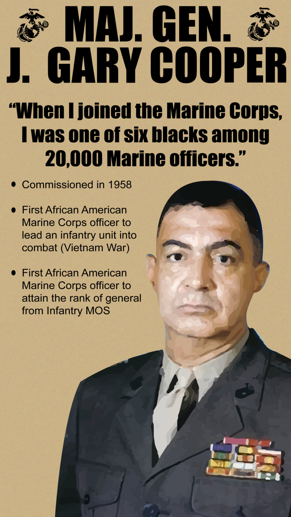 Celebrating Black History Month: Maj. Gen. J. Gary Cooper