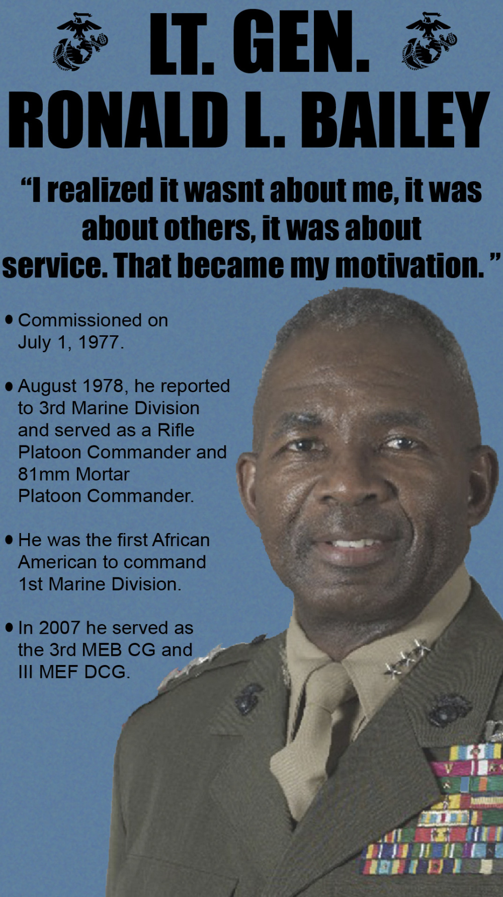 Celebrating Black History Month: Lt. Gen. Ronald Bailey