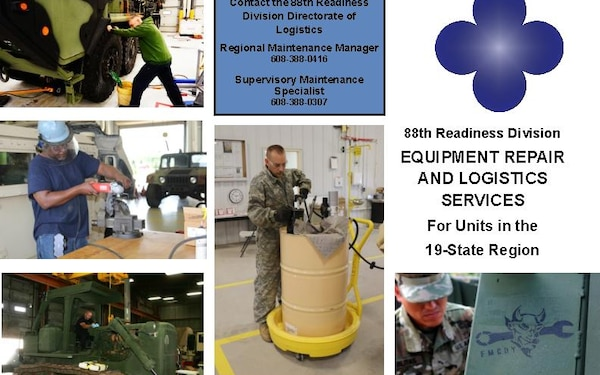 88th Readiness Division Equipment Repair and Logistics Services