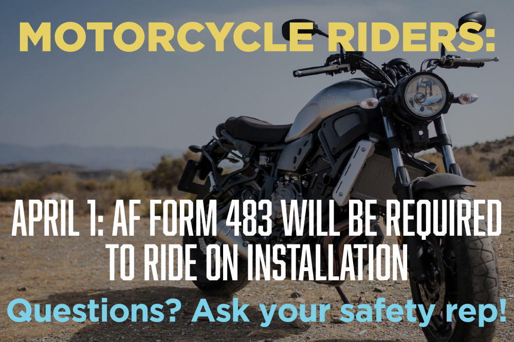 Motorcycle Policy Graphic
