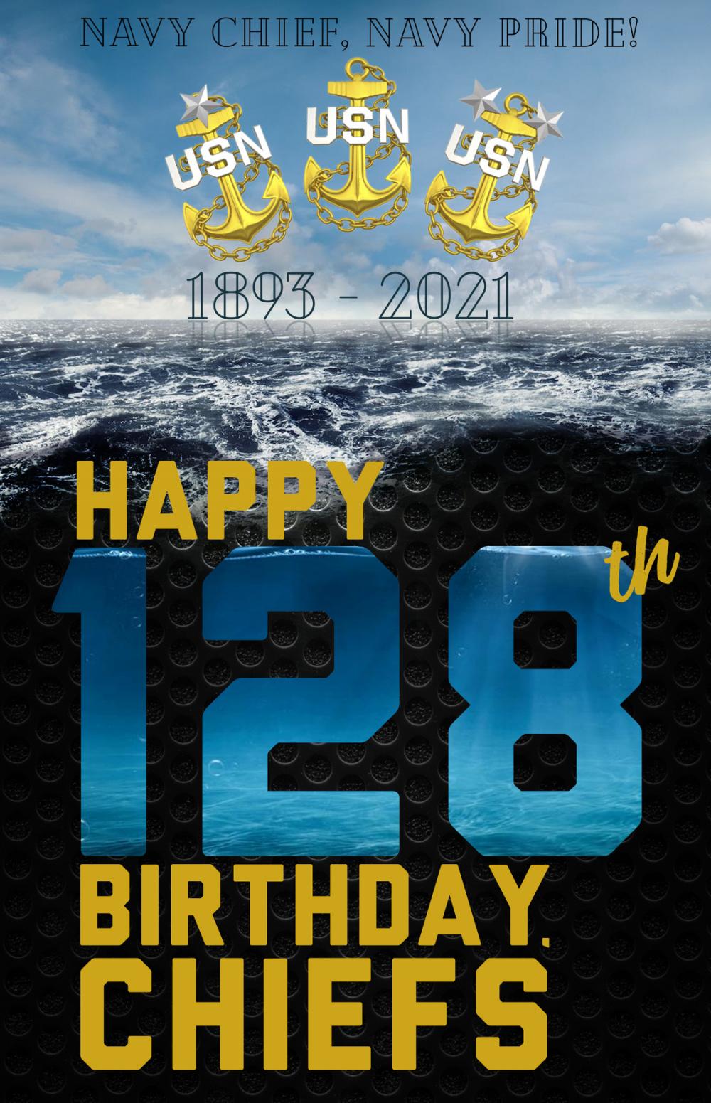 Celebrating Navy Chief Petty Officers 128th Birthday