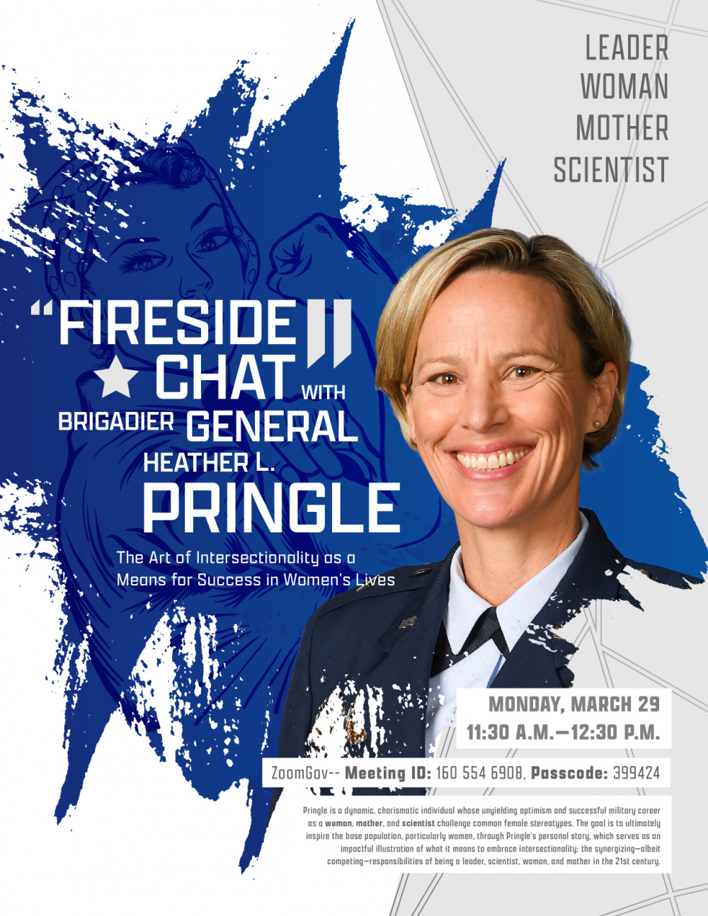 Fireside Chat with Brigadier General Heather L. Pringle