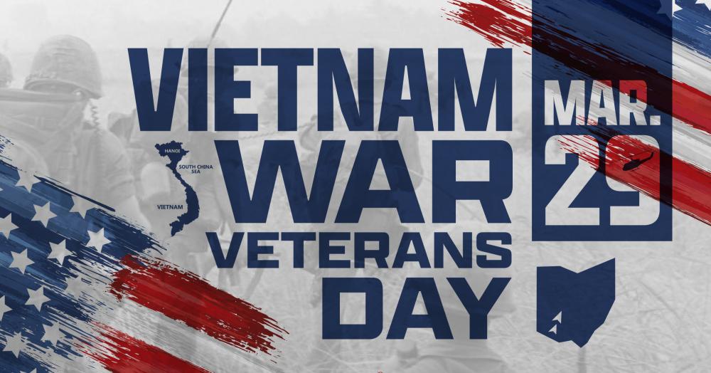 Vietnam War Veterans Day, March 29