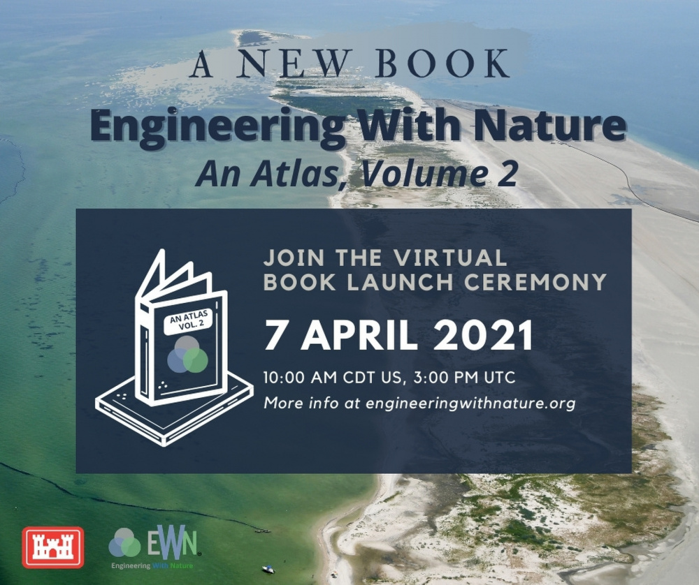 USACE Engineering With Nature Program announces Atlas Volume 2 Book Launch Event