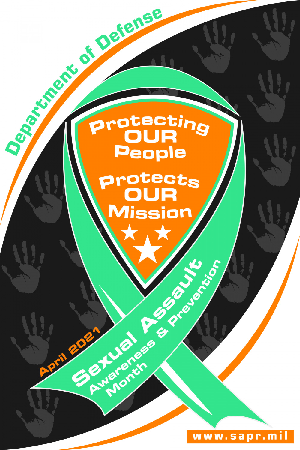 Sexual Assault Awareness and Prevention Month Poster