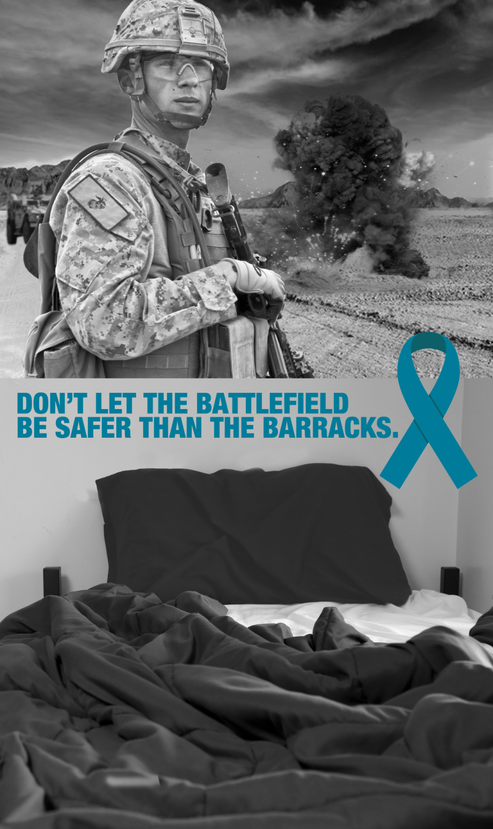 Sexual Assault Awareness and Prevention Month (SAAPM) Poster