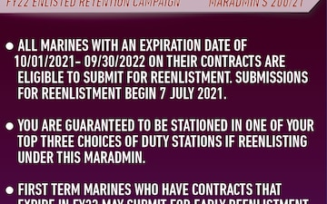 Enlisted Retention Campaign
