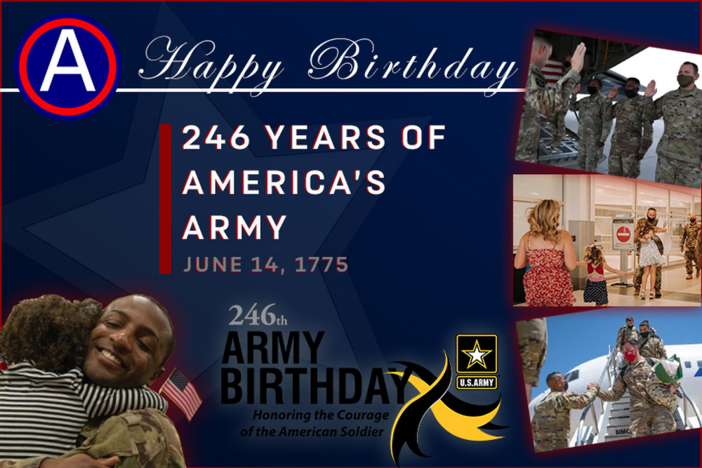 USARCENT Army Birthday Graphic