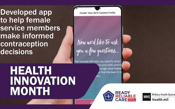 Health Innovation Month - app