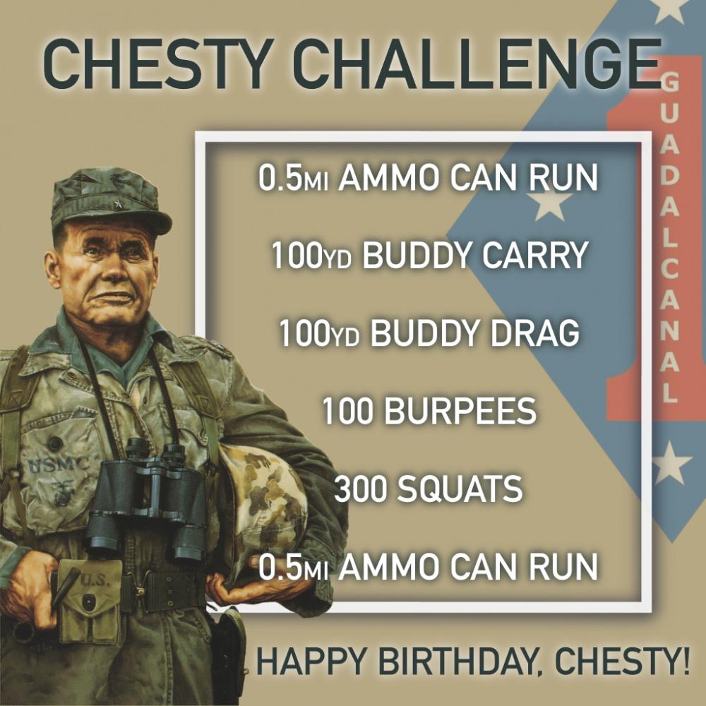 Chesty Challenge