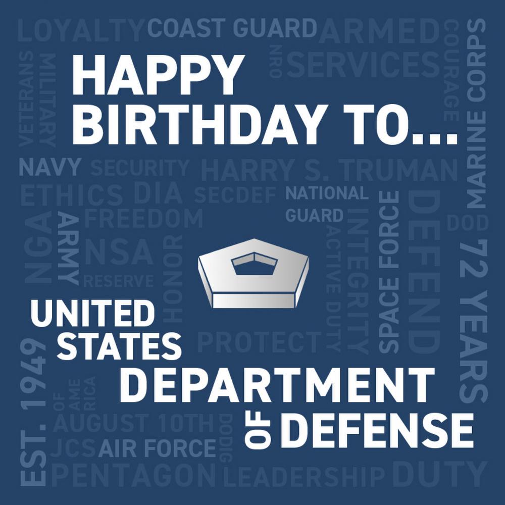 Department of Defense Birthday
